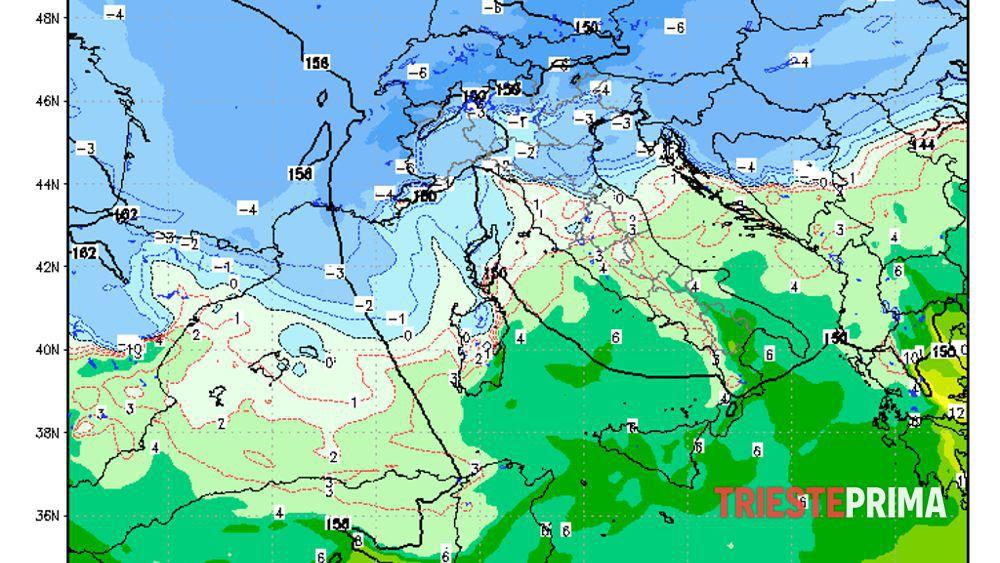 Torna il maltempo a Trieste, carnevale KO: pioggia e bora ...