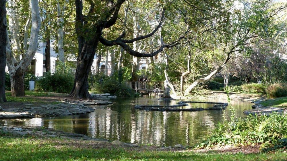 Giardino pubblico rinviata la pulizia radicale del for Pulizia laghetto